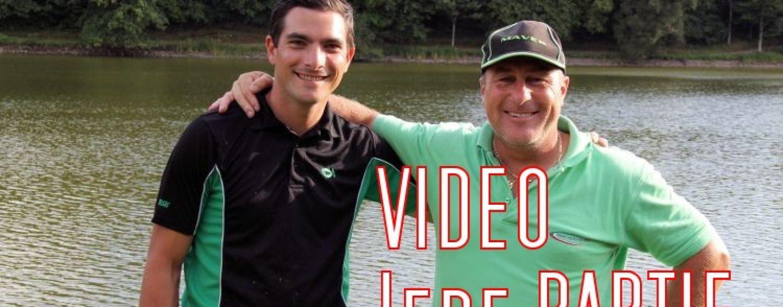 Vidéo de pêche à l'anglaise au coulissant avec Paulo Lafont et Julien Turpin 1/4