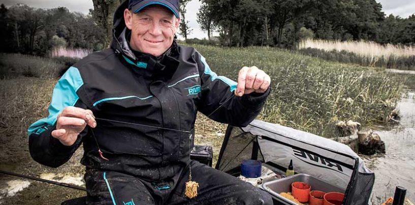 Montage feeder potence inversée pour la pêche au feeder