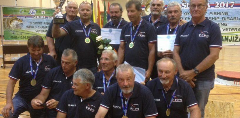 L'équipe de France Vétéran victorieuse en Serbie